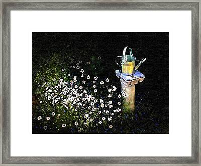 Silver Pitcher Framed Print by Robert Foster
