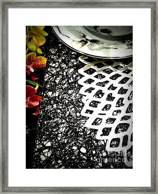 Silver Plater Framed Print