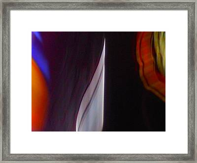 Silver Point Framed Print by James Welch