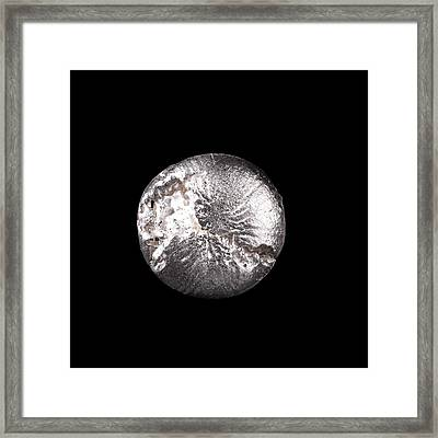 Silver Framed Print by Science Photo Library