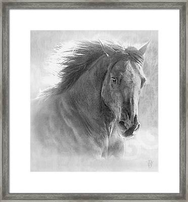 Silver Storm Framed Print by Renee Forth-Fukumoto