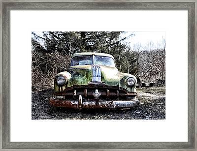 Silver Streak 8 Framed Print by Bill Cannon