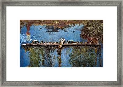 Silver Streak Framed Print