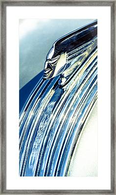 Profile In Chrome II Framed Print by Caitlyn  Grasso