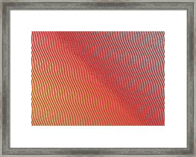 Framed Print featuring the digital art Silver To Gold by Denise Beverly