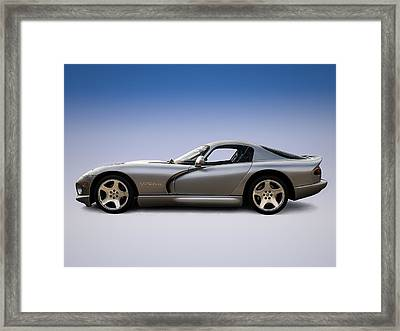 Silver Viper Framed Print by Douglas Pittman