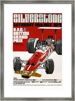Silverstone Grand Prix 1969 Framed Print