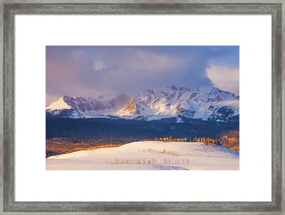 Silverthorne Sunrise Framed Print