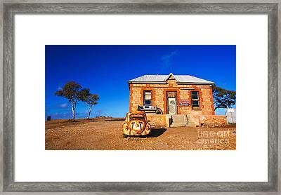 Silverton Art Gallery Framed Print