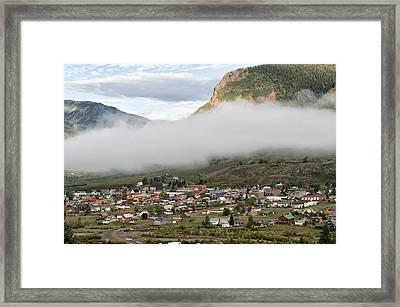 Silverton Colorado IIi Framed Print by Melany Sarafis