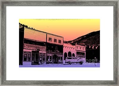 Silverton Colorado Framed Print by Janice Rae Pariza