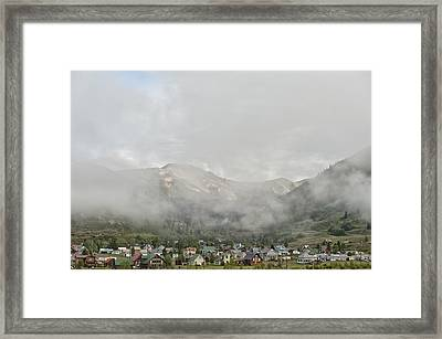 Silverton Colorado Framed Print by Melany Sarafis