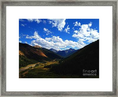 Silverton Framed Print