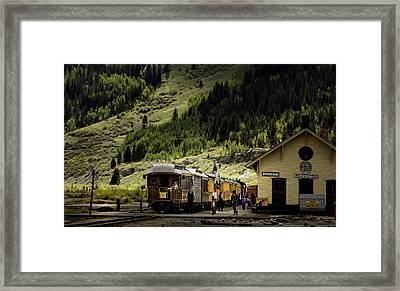 Silverton Station Framed Print
