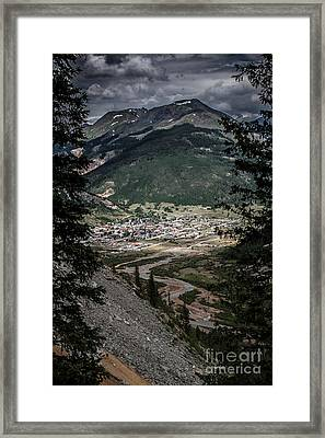 Silverton View From Above Framed Print by Jim McCain