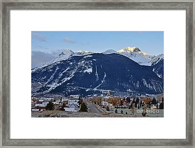 Silverton's Mountain Majesty Framed Print