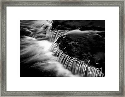 Silvery Falls Framed Print by Paul W Faust -  Impressions of Light