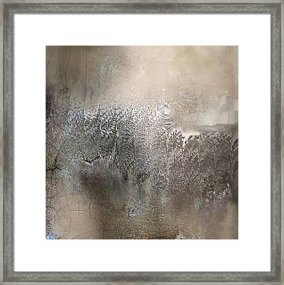 Silvery Night Framed Print