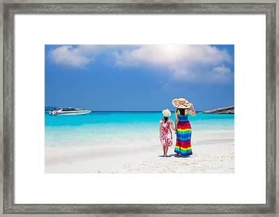 Similan Island Framed Print