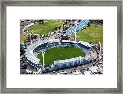 Simminds Stadium Framed Print by Brett Price