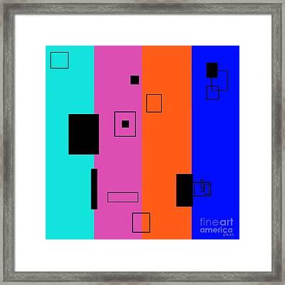 Simple Color 2 Framed Print by Eloise Schneider
