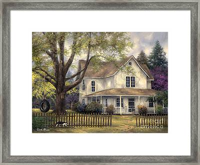 Simple Country Framed Print by Chuck Pinson