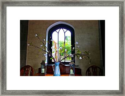 Framed Print featuring the photograph Simple Elegance by Charlie and Norma Brock