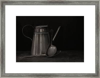 Simple Essentials Framed Print by Robin-Lee Vieira