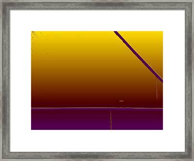 Simple Geometry - 4 Framed Print by Lenore Senior