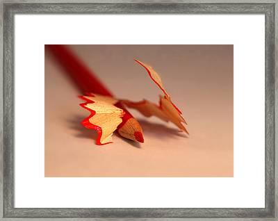 Simple Framed Print by Kent Mathiesen