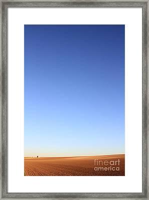 Simple Landscape #1 Framed Print by Pixel Chimp