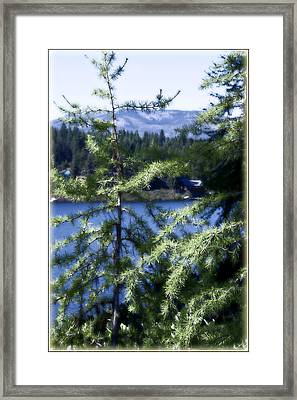 Simple Life Framed Print by Janie Johnson