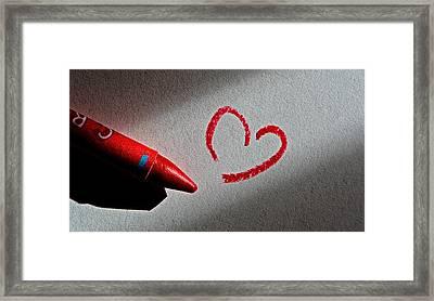 Simple Love Framed Print by Bill Owen