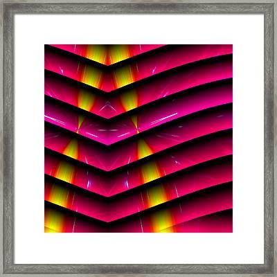 Simple Math Framed Print by Visual Artist  Frank Bonilla