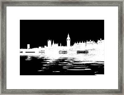 Simple Politics Framed Print by Sharon Lisa Clarke