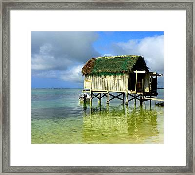 Simple Solitude Framed Print