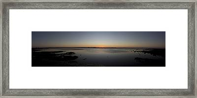 Simple Sunset Framed Print by Michael James