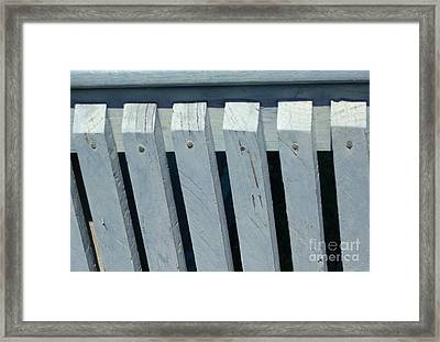 Framed Print featuring the photograph Simple Symmetry by Christina Verdgeline