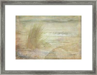 Simple View Framed Print by Ramona Murdock