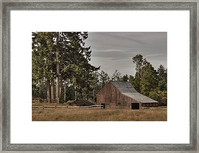 Simpler Times 2 Framed Print by Randy Hall
