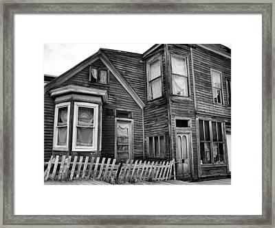 Simpler Times Framed Print by Ellen Heaverlo
