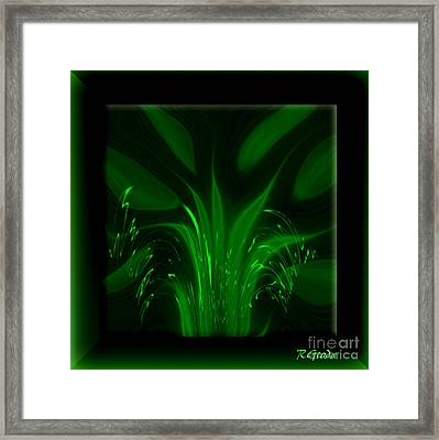 Framed Print featuring the digital art Simplicity - Abstract Art By Giada Rossi by Giada Rossi