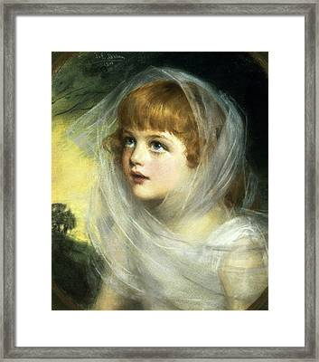 Simplicity And Innocence Framed Print by John Ernest Breun
