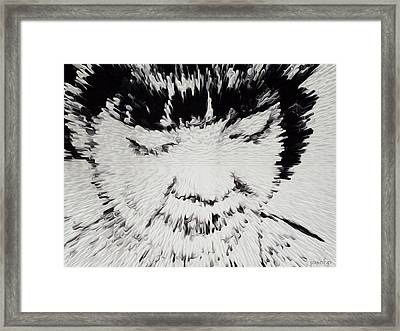 Simplicity Fast Forward Framed Print by Sir Josef - Social Critic -  Maha Art