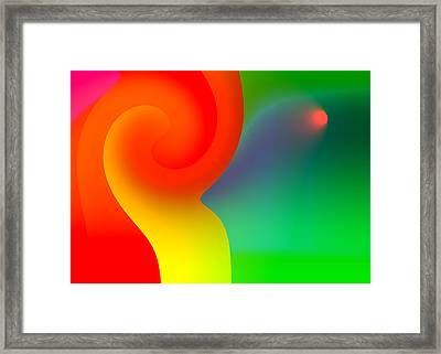 Simplicity Itself Framed Print by Hakon Soreide
