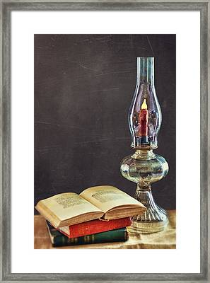 Simplicity Framed Print by Kathy Jennings