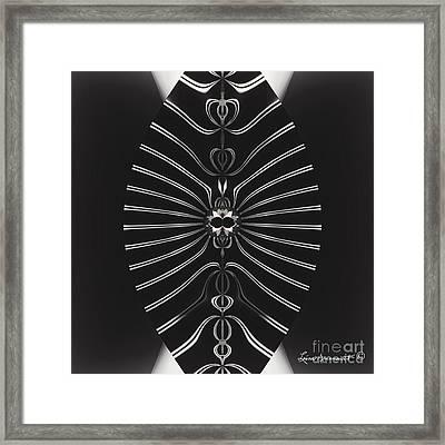 Simplicity Framed Print by Leona Arsenault