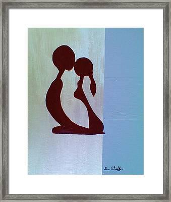 Simplicity Framed Print