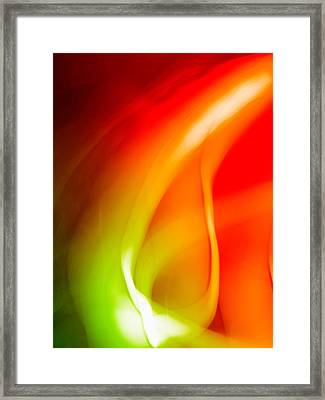 Simplicity Of Motion Framed Print by Tom Druin