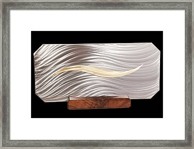 Simplicity Framed Print by Rick Roth